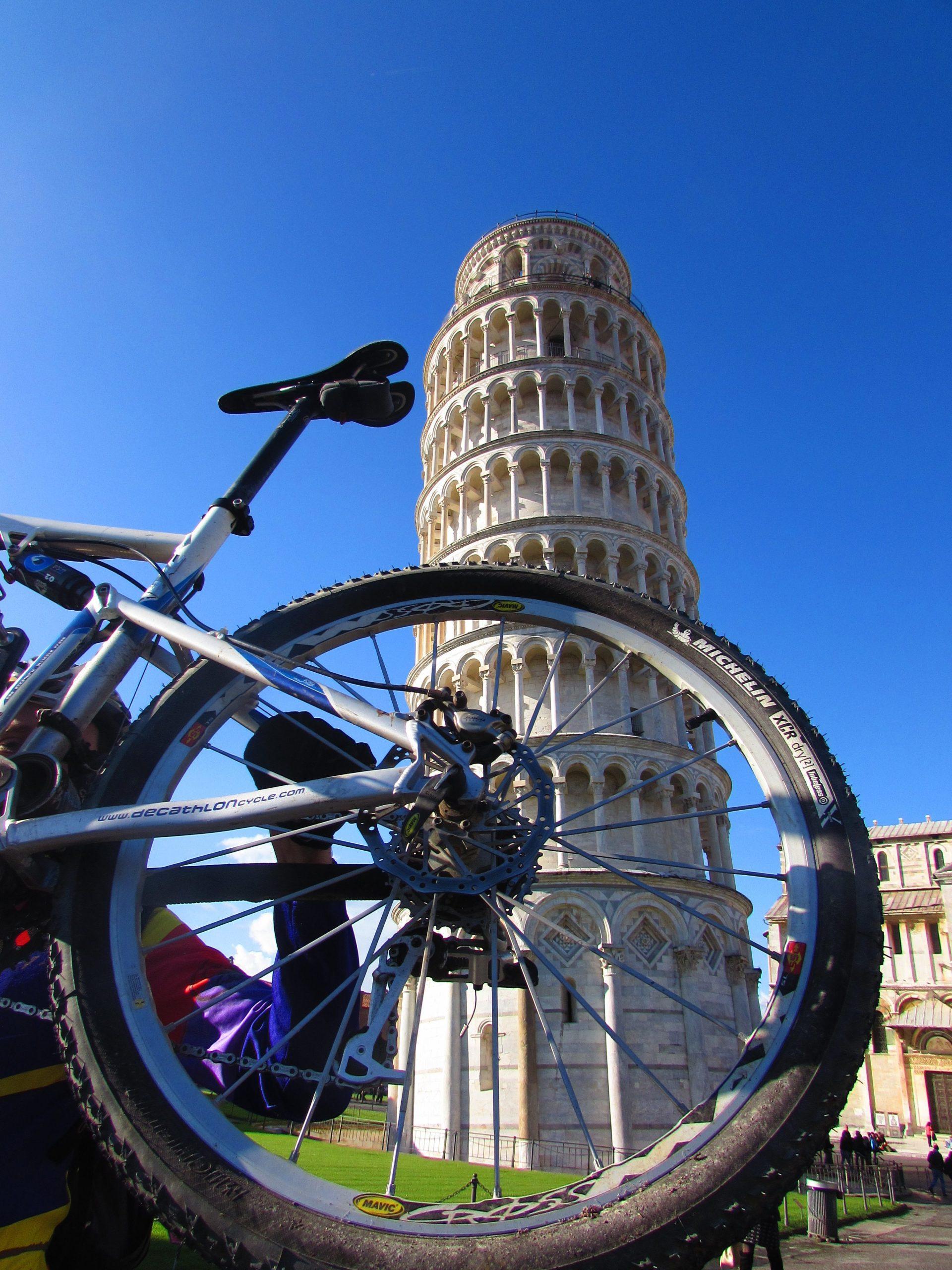 Pisa Torre bicicletta