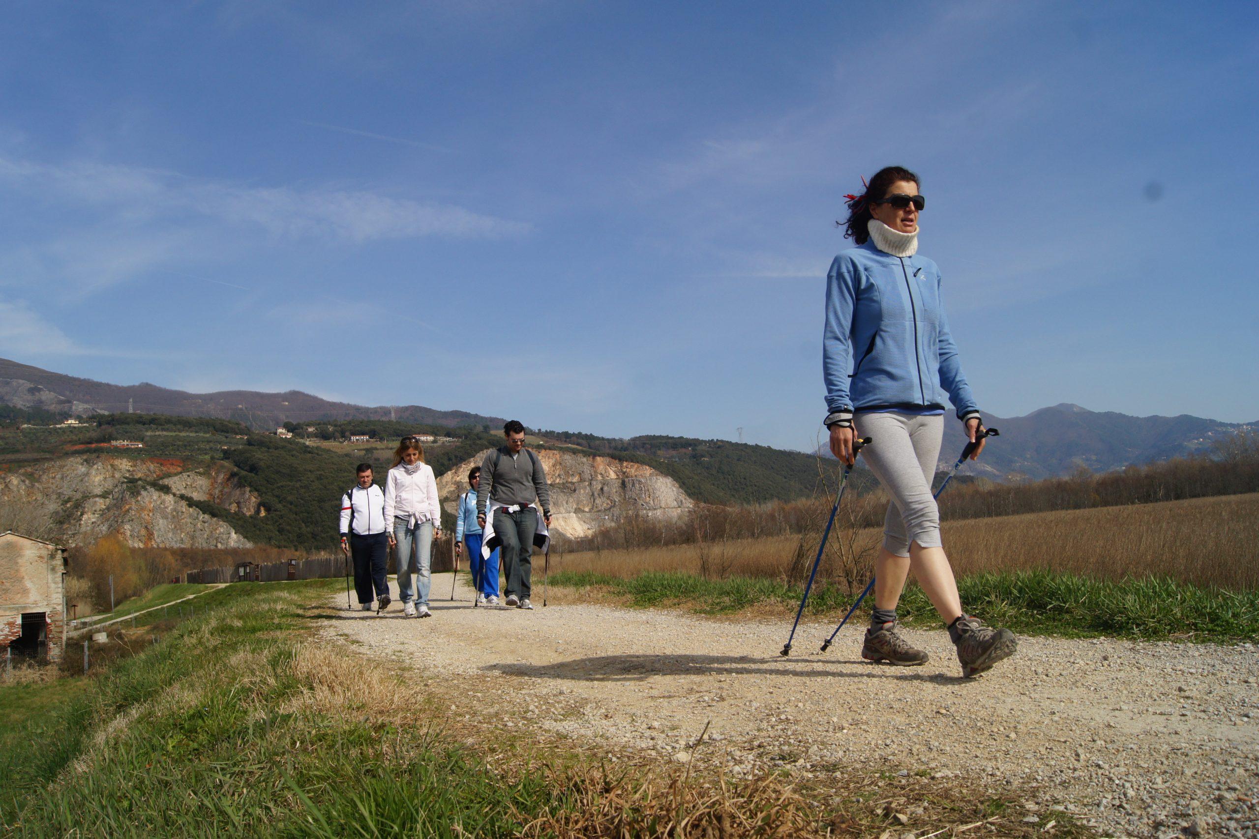 Percorsi Nordic Walking - Camminata Nordica